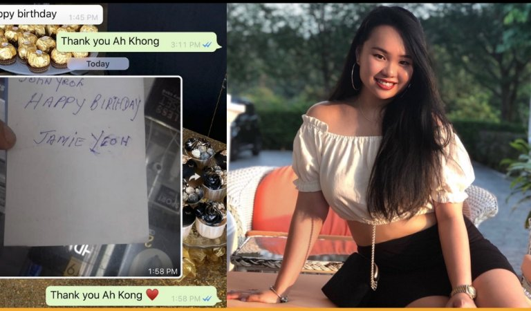Man Went To Phone Shop To Seek Help Because He Wanted To Wish Happy Birthday To Granddaughter