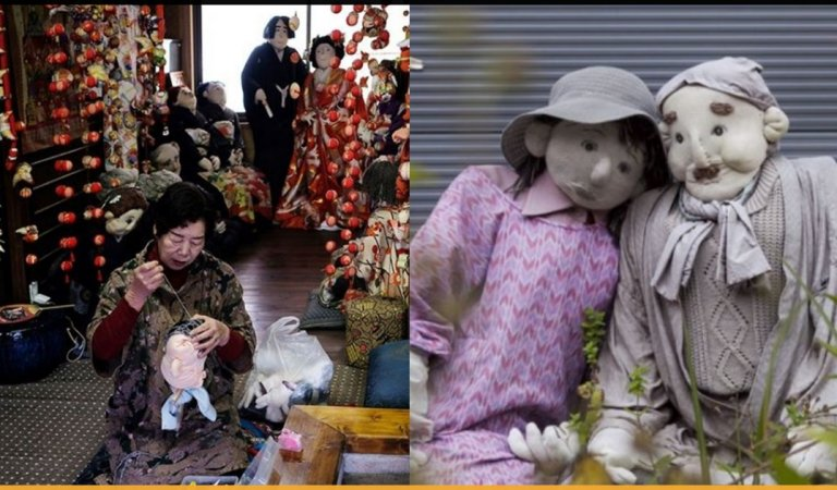 This Village In Japan Has Only 30 People, But 270 Human-sized Doll To Keep Them Company