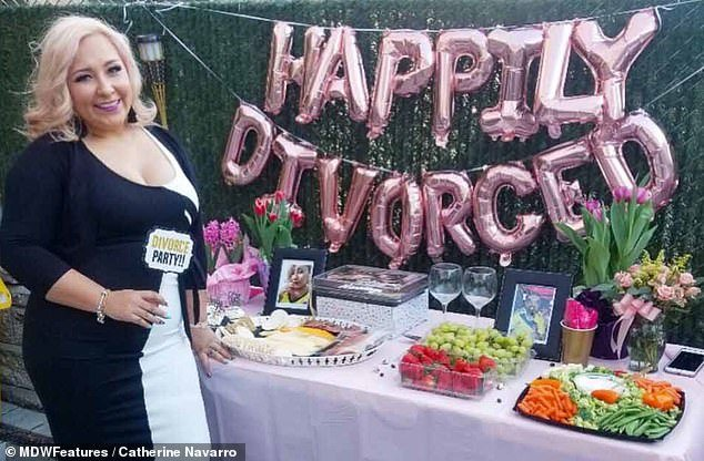 Woman Throws Herself A Divorce Party After Being Able To File Divorce After Trying For Many Years