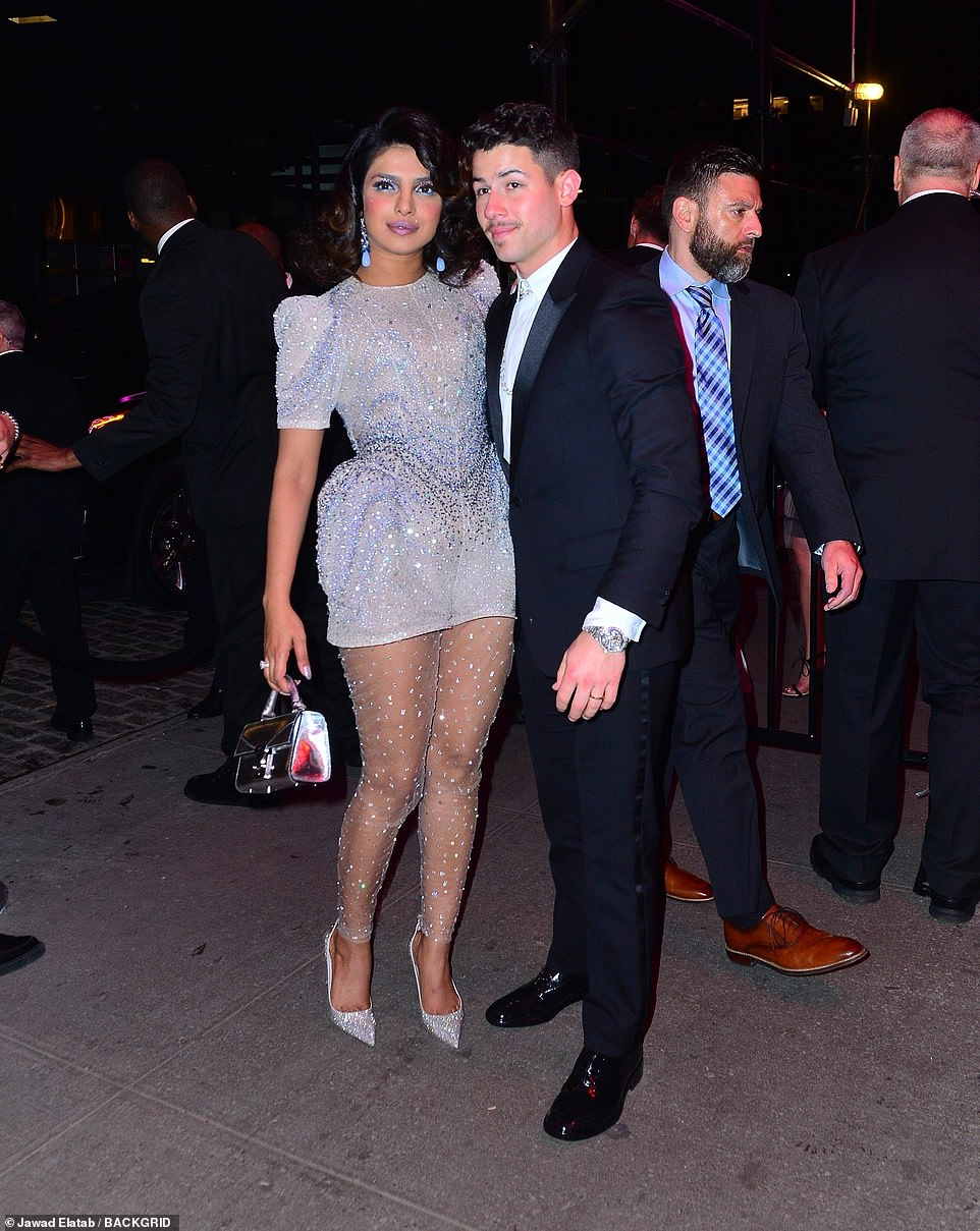 Nick Jonas and Priyanka Chopra Jonas Fired Up The Met Gala After Party With Their Look