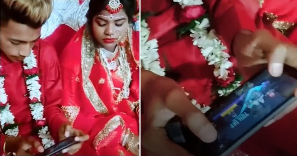 This Groom Played PUBG Mobile On His Wedding Day Instead Of Being Involved In The Ceremony