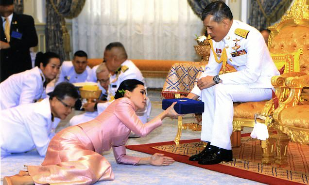 Thailand King Maha Vajiralongkorn Marries Bodyguard In A Surprise Ceremony