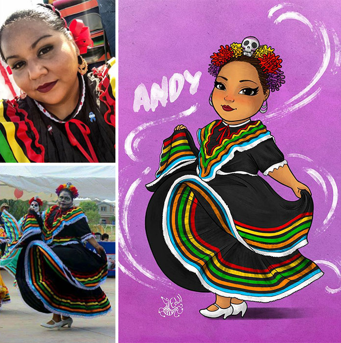 This Artist Breaking The Stereotypes Turns Pictures Of Plus Sized Women Into Art