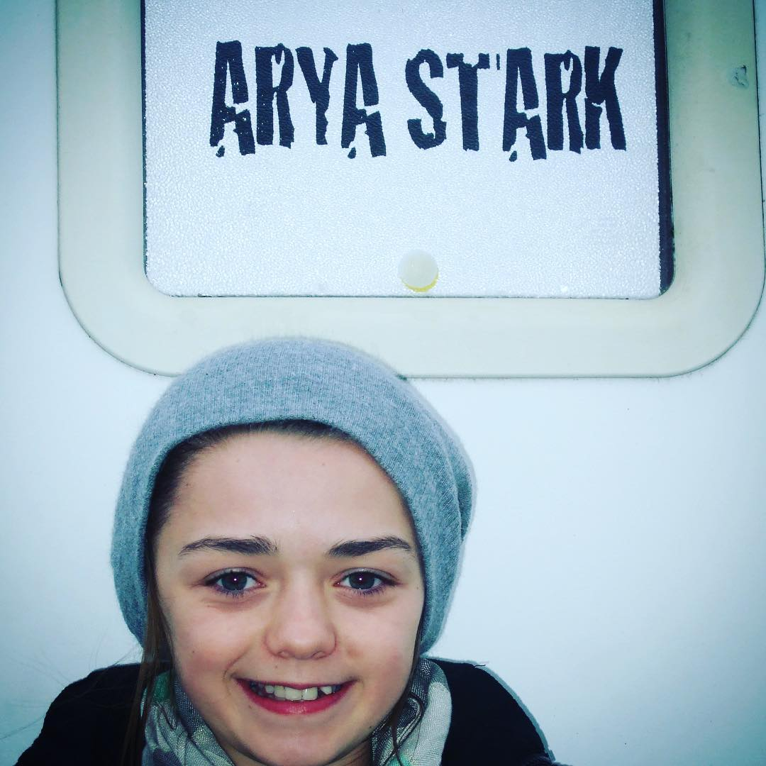 Game of Thrones behind the scene images