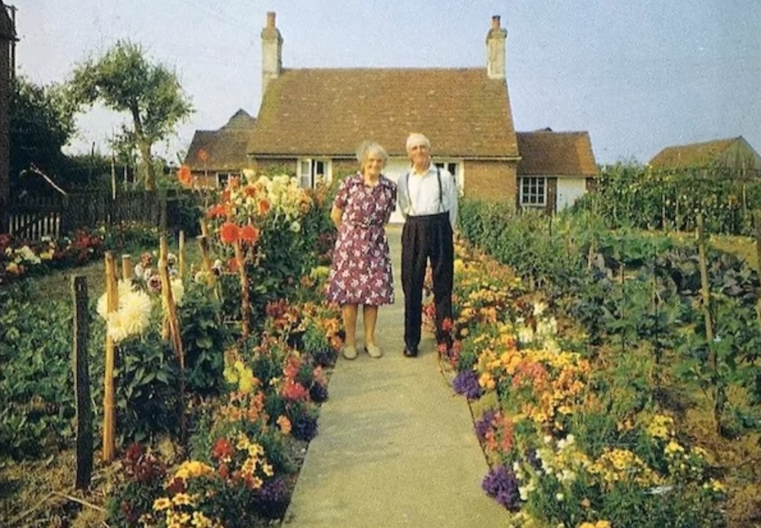 Elderly Couple Takes Picture Every Season In Their Garden, But The Last One Will Make You Cry