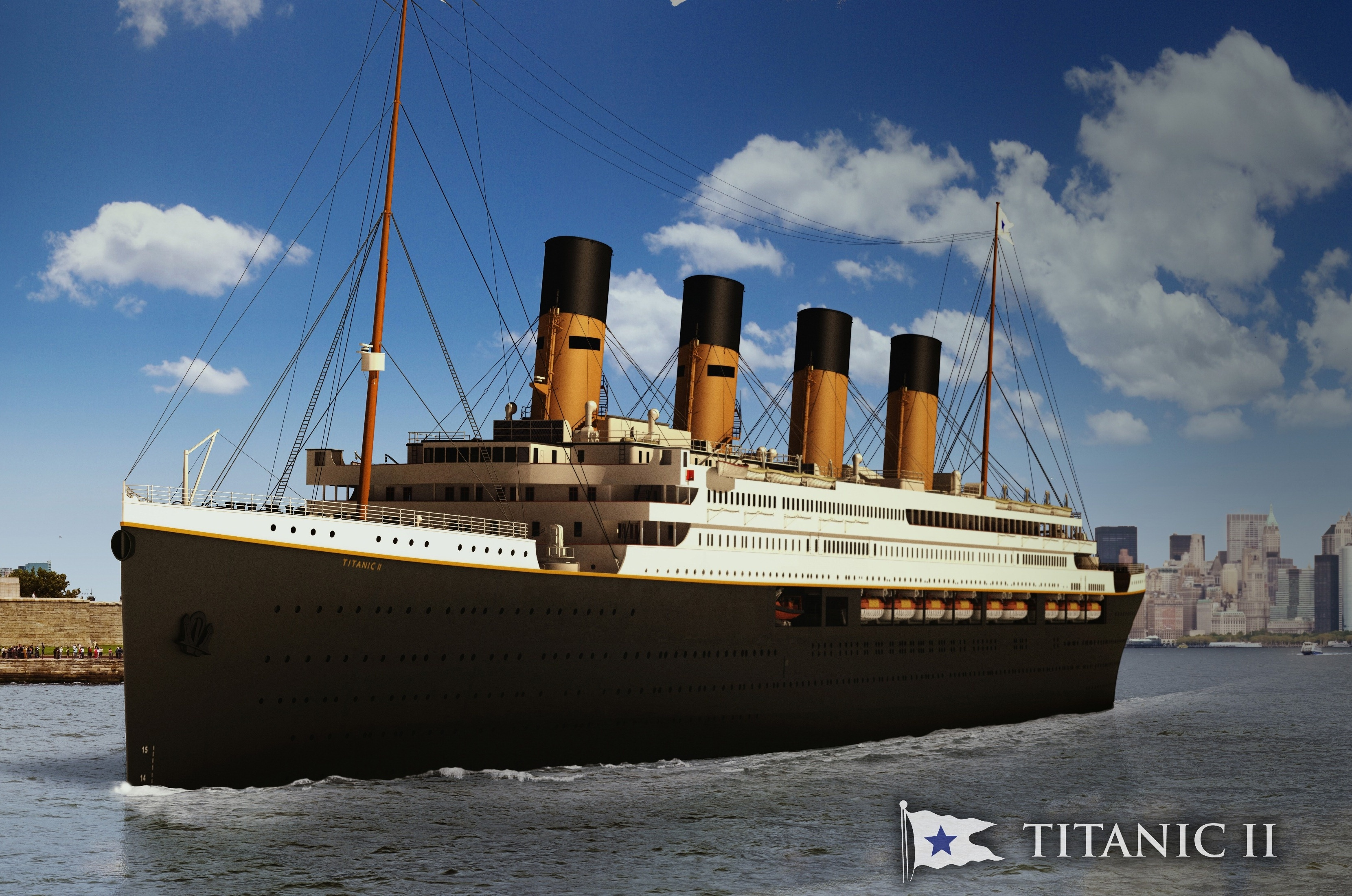 Titanic II Is All Set To Sail In 2022 Following The Route Of Original Ship