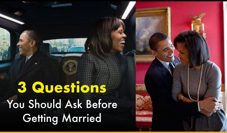 Barack Obama Explains What Are The 3 Pertinent Questions You Should Ask Before Getting Married