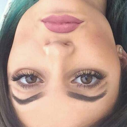 These Celebrity Pics Look Normal But Will Give You Chills When You Turn Your Phone Upside Down