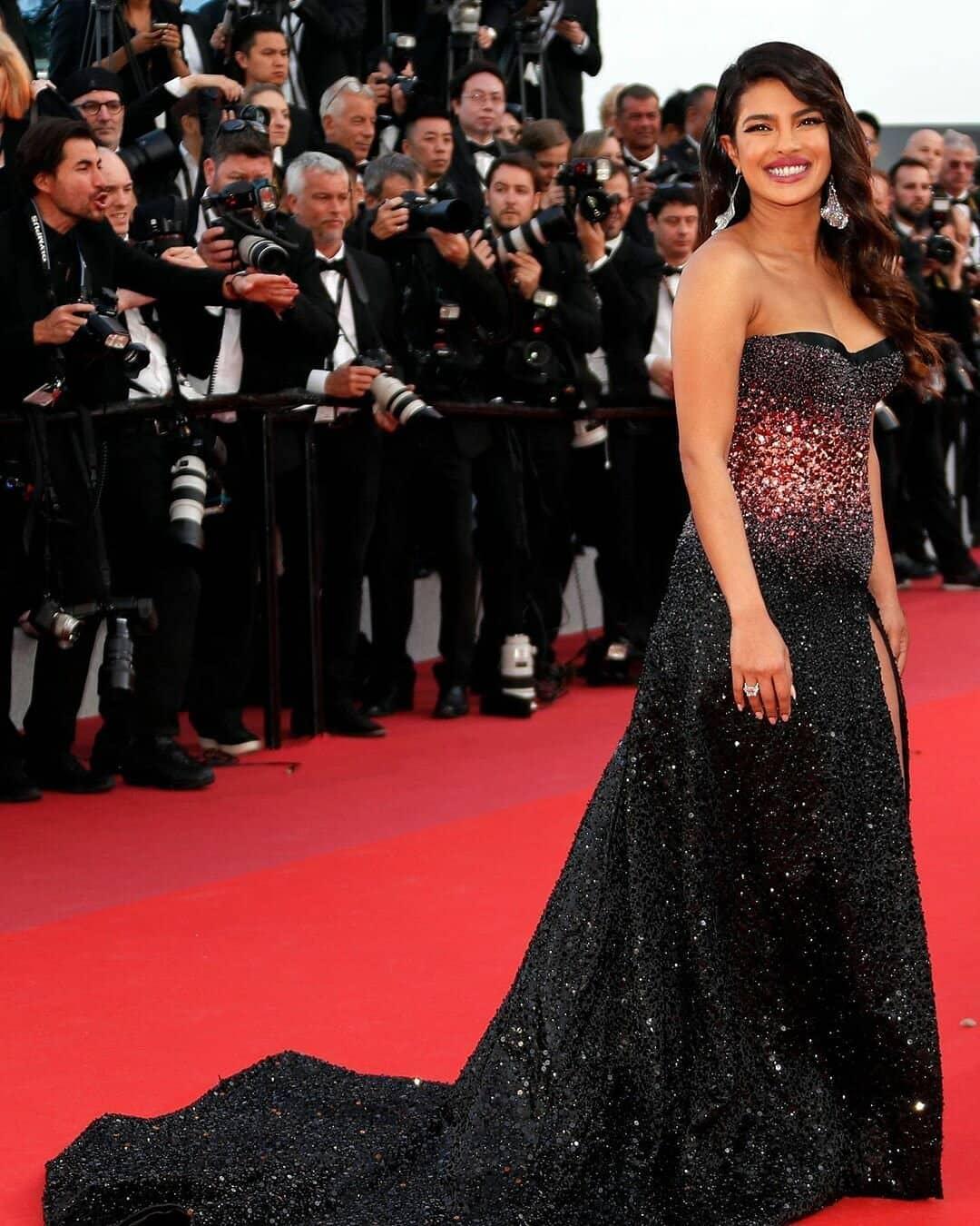 Cannes 2019: Priyanka Chopra Steals The Show In The Classic White Ensemble