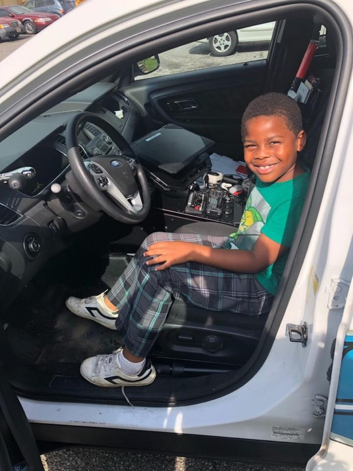 6 Year Old Lonely Boy Dials 911 Asking For A Friend, Cop Shows Up At His Door