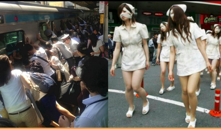 20 Pictures Portraying Things That Make Japan Different From The Rest Of The World