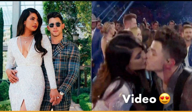 Nick Jonas Kissed Priyanka While Performing At Billboard Awards And Fans Cannot Stop Gushing