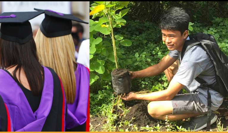 Philippines Passes New Law That Requires Students To Plant 10 Trees Before They Graduate