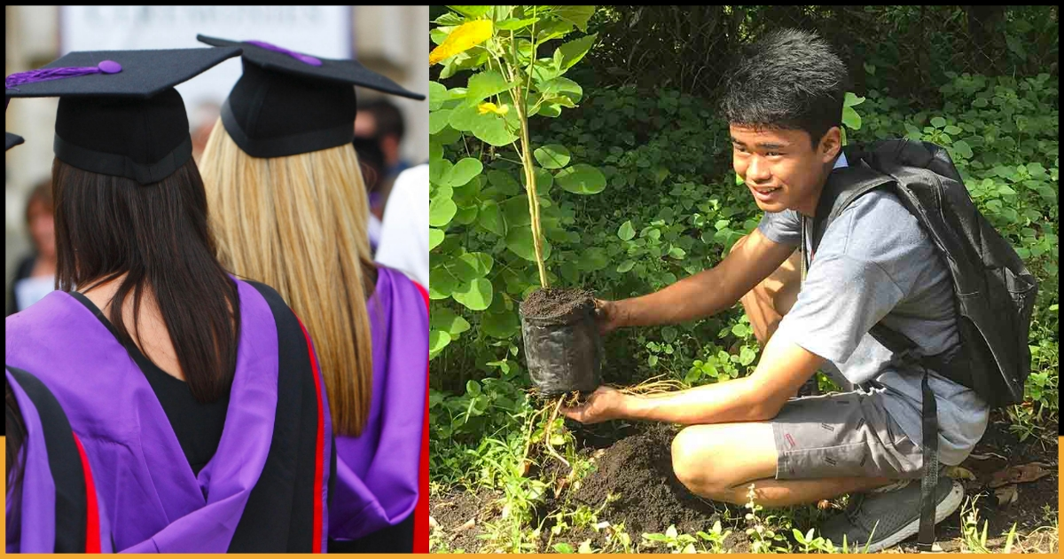 Image result for Philippines passes law requiring students to plant 10 trees if they want to graduate