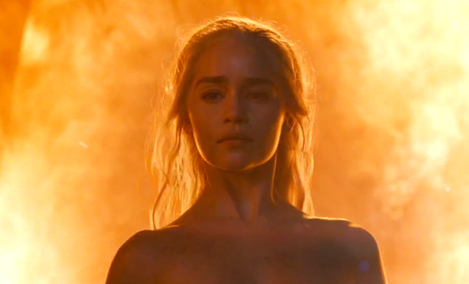 Girlfriend gets jealous of nudity in Game of Thrones