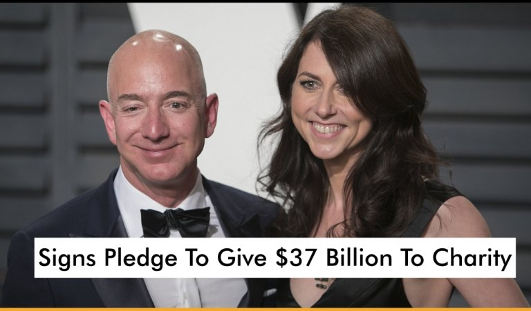 MacKenzie Bezos After Her Divorce Now Signs Pledge To Give $37 Billion To Charity
