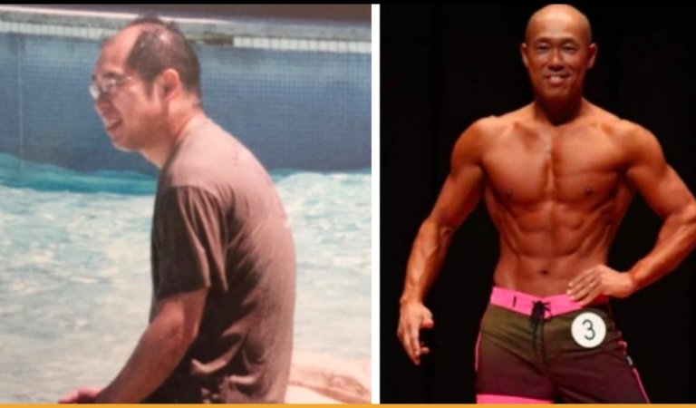 Man Who Got Dumped By Wife As He Was Bald And Fat Has Turned Himself Into Bodybuilder