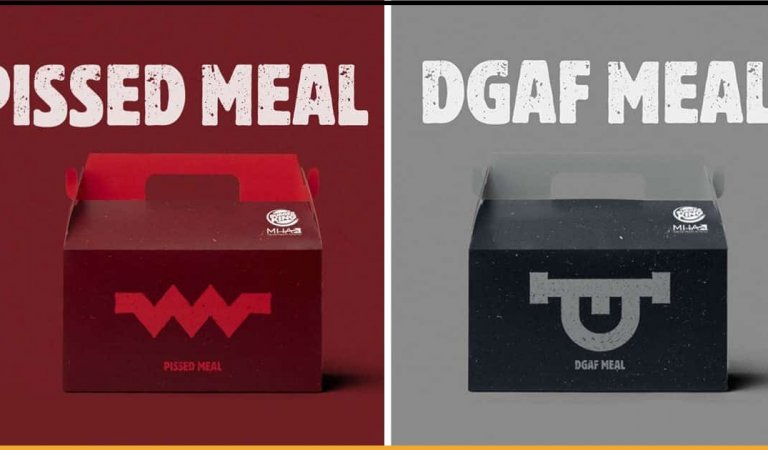 Burger King Launches Unhappy Meals To Raise Awareness For Mental Health