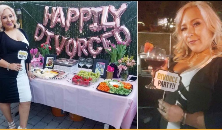 Woman Threw Herself A Divorce Party After Trying To File For Divorce For Many Years