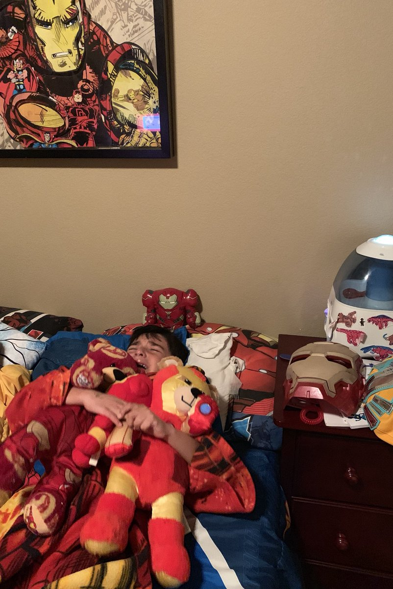 After Watching Avengers: Endgame This 6-Year-Old Iron Man Fan Cried Himself To Sleep