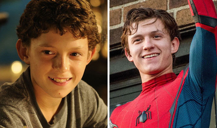 Photos Of The Young Heroes Of The Marvel Universe Before Trying To Save The Planet