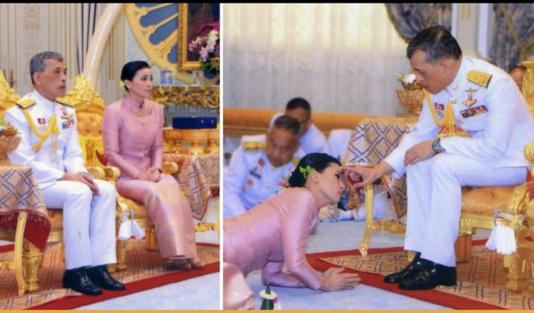 Thailand King Maha Vajiralongkorn Marries His Bodyguard In A Surprise Ceremony