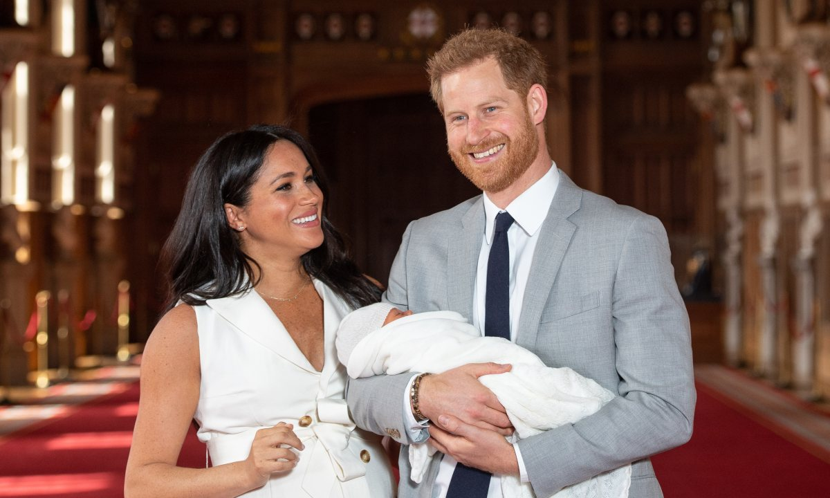 Meghan Markle Shares Photos Of Her Newborn Archie On Mother's Day