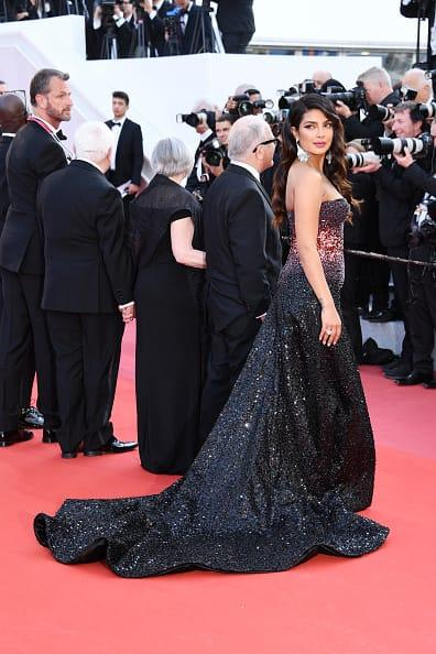 Priyanka Chopra Looks A Sparkling Diva During Her Red Carpet Appearance At Cannes 2019