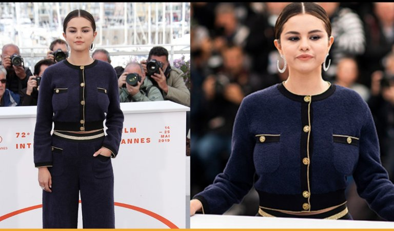 Selena Gomez Snapped In Cute Sailor Outfit At 'The Dead Don't Die' Screening At Cannes 2019