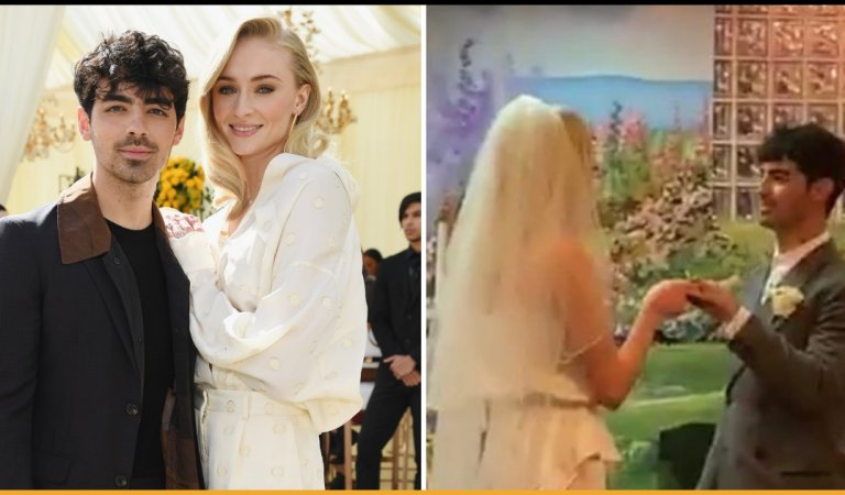 Sophie Turner And Joe Jonas Got Married In Las Vegas In A Surprise Wedding Ceremony