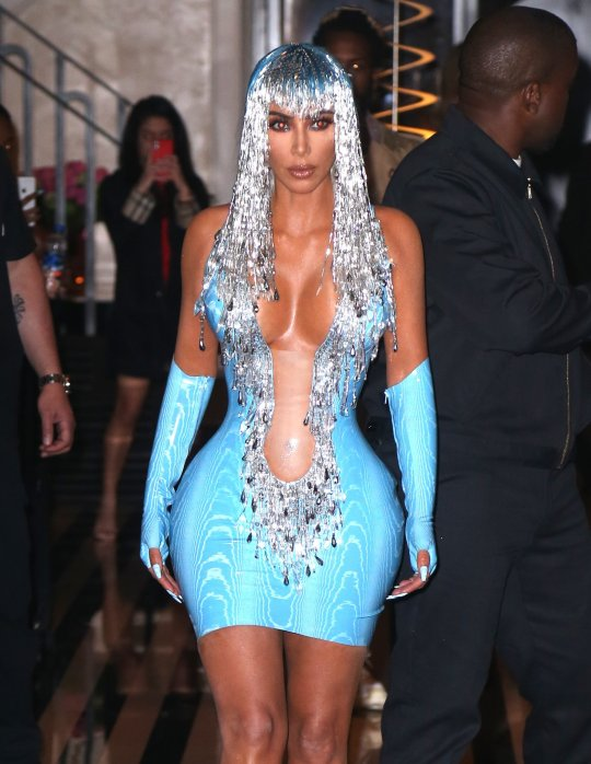 Kim Kardashian Turning Up The Heat With Her Attire At The Met Gala 2019 After-Party
