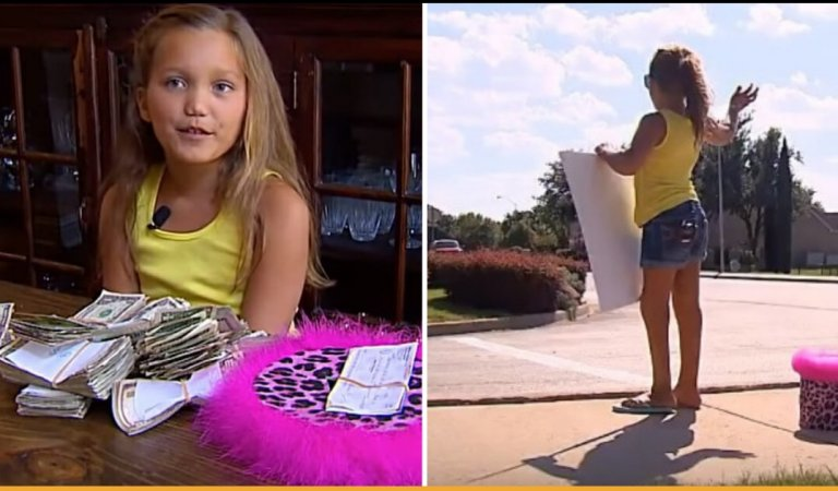 Girl Wished To Raise Funds For Sick Children On Birthday And Collected Thousands Of Dollars