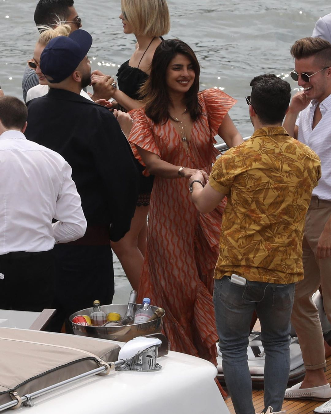 Priyanka Chopra And Nick Jonas' Pictures from the Jonas' Parisian Cruise Goes Viral