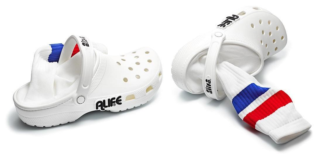 Alife Introduces Crocs With Socks Attached To It Especially For Summers