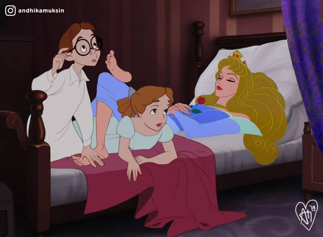 Artist Shows Disney Princesses In A Realistic Way