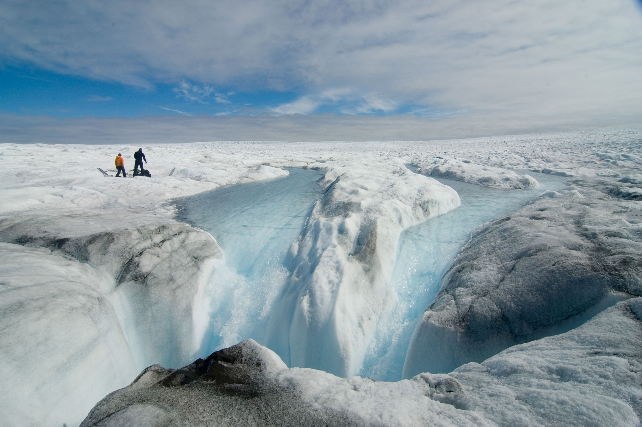 Greenland Drastically Lost 2 Billion Tons Of Ice Melted In Just A Day