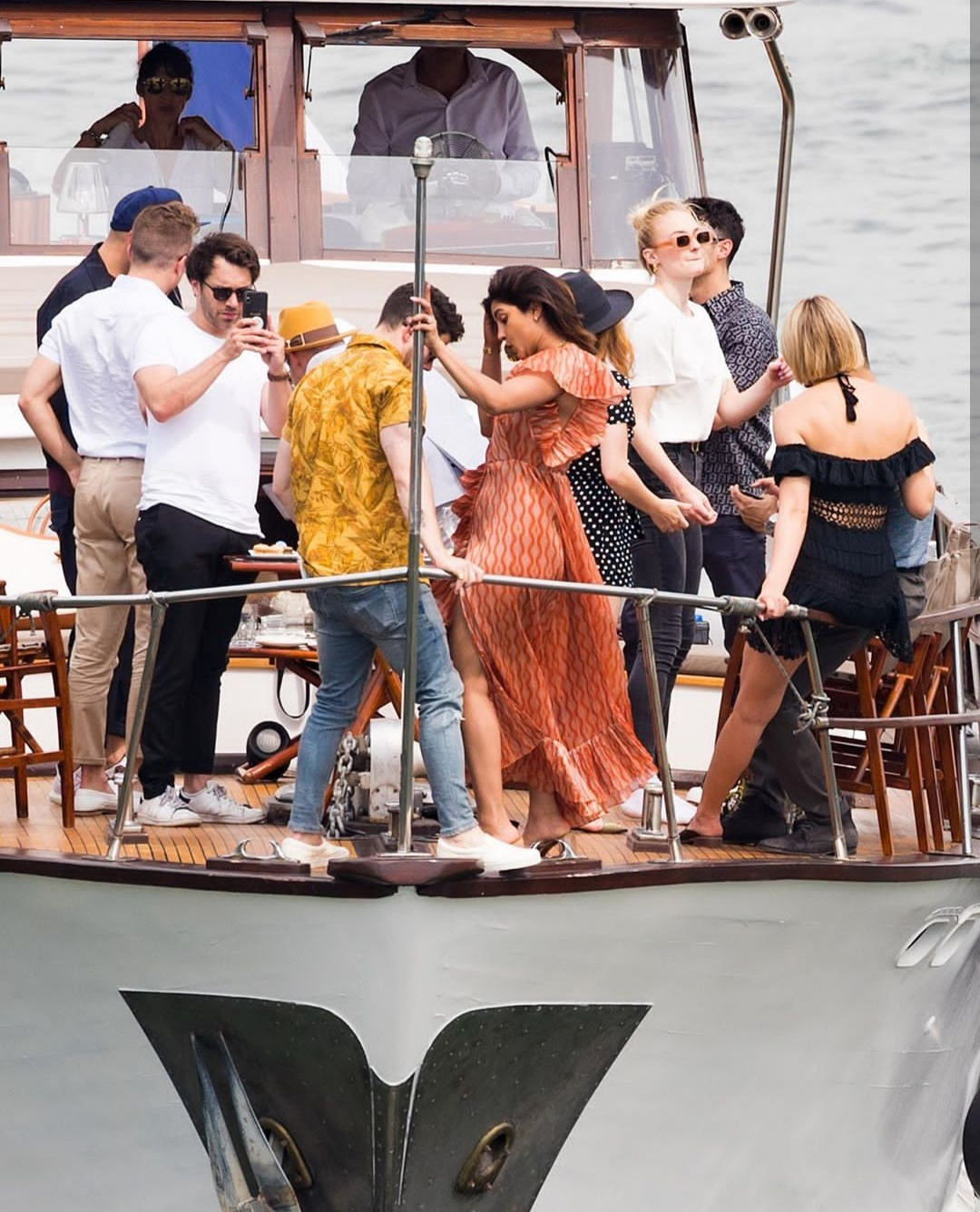 Priyanka Chopra And Nick Jonas' Pictures from the Jonas Parisian Cruise Goes Viral