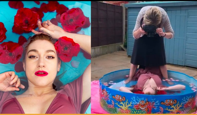 Blogger's Behind The Scene Pictures Show How Easy It Is To Fake Glamorous Photo On Instagram