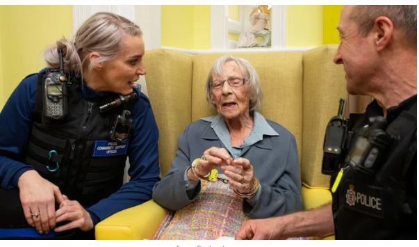 Police Arresred A 93 Years Old Woman To Fulfill Her Dying Wish