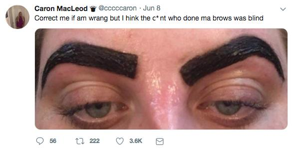Fumbled Up Eyebrows Leaves Girl Looking Like A Lazytown Villain