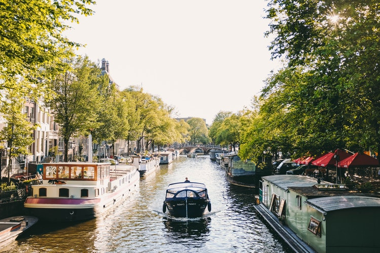 Enjoy Being Married And A Honeymoon In Amsterdam, For Exactly One Day