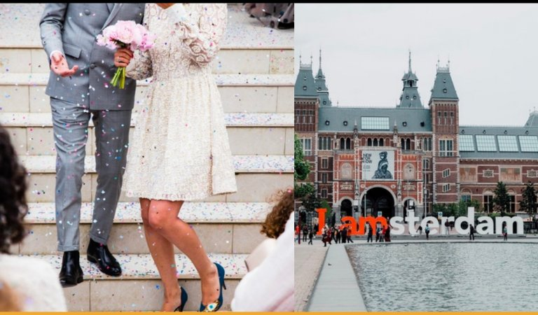 Tourists Visiting Amsterdam Can Now Marry A Local For A Day And Go On A Honeymoon