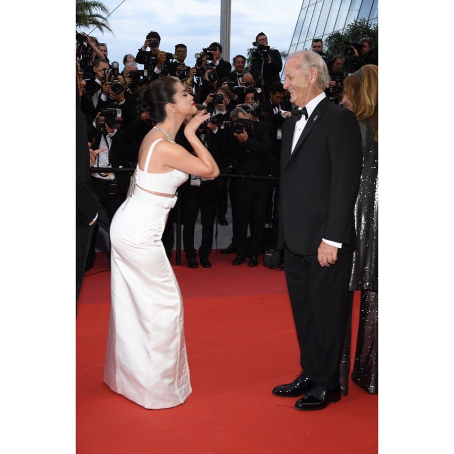 Selena Gomez Reveals What Bill Murray Whispered In Her Ear During Viral Cannes Moment