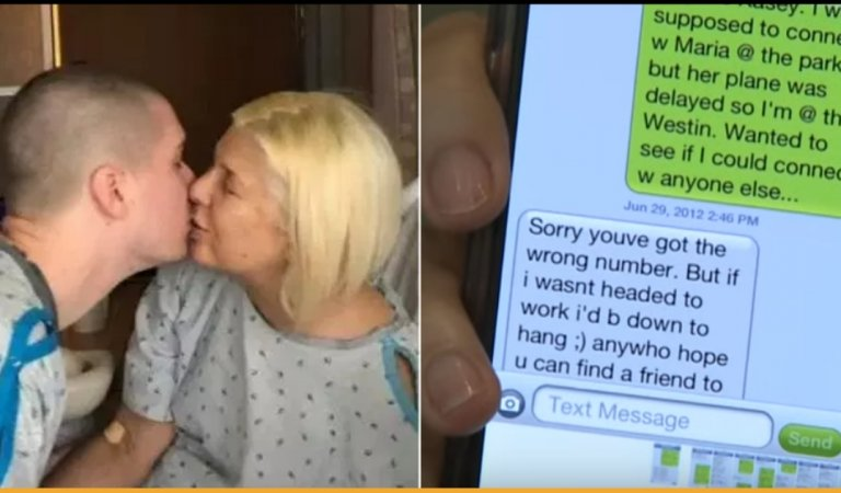 Love Blooms Among A 52-Year-Old Lady and A 22-Year-Old Man Because Of A Mistaken Text