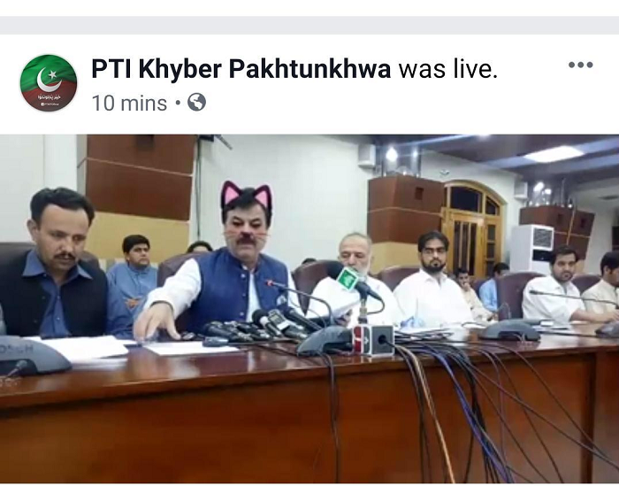 Pakistani Officials Accidentally Left The Cat Filter On During Live Session of a meeting, Hilarious Video Went Viral