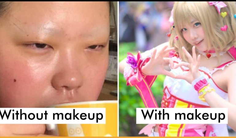 Cosplayer Amazes Netizens By Sharing Her Transformed Look Along With Her Off-MakeUp Look