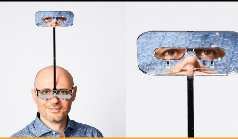 Man Creates Innovative Glasses For Short People To Oversee Everyone At The Gigs