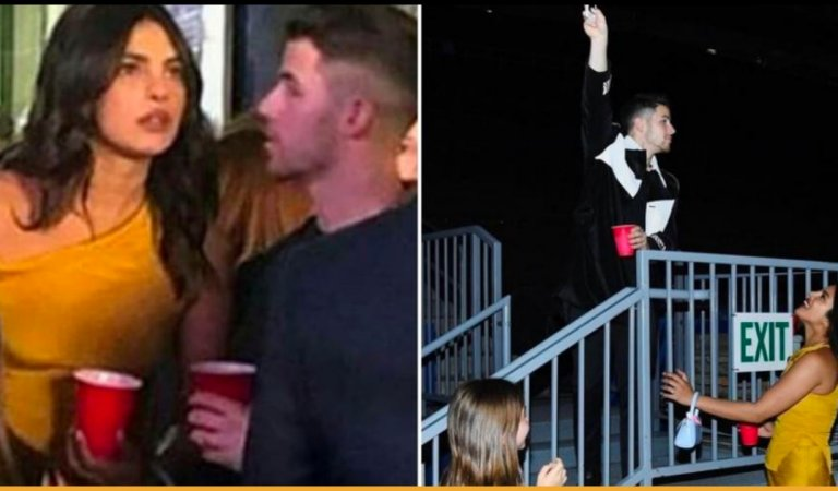 Priyanka Chopra and Nick Jonas Recreated Scene From Romeo And Juliet At A Concert