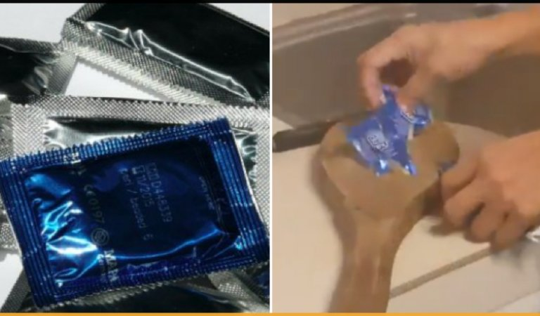 This Filipino Mother Finds Son's Condoms, Chops Them Up To Teach Him A Lesson
