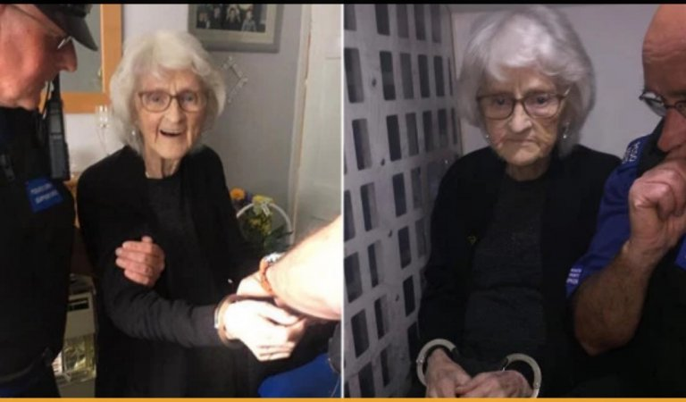Police Arrested A 93 Years Old Woman To Fulfill Her Dying Wish